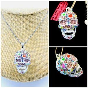 Jewelry - Betsey Johnson Crystal Multicolor Enamel
